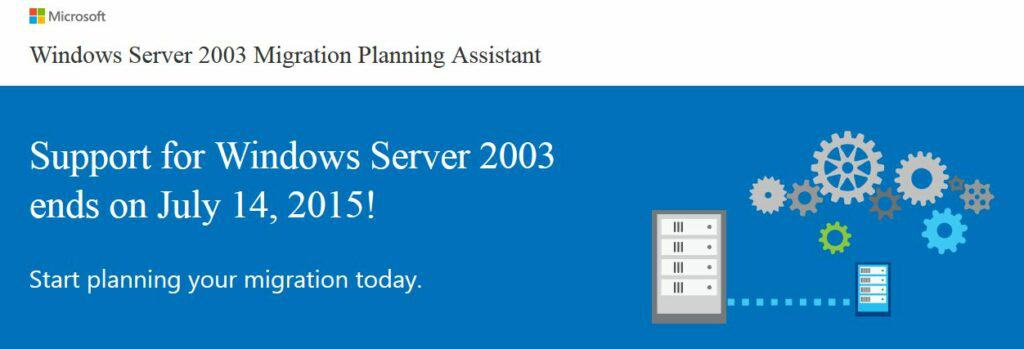 Support for Microsoft Server 2003