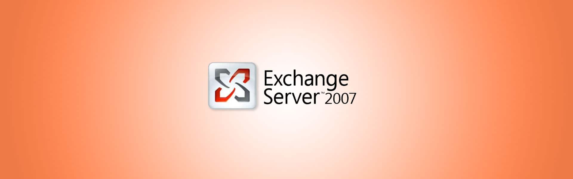 Exchange 2007 Support Ends in April