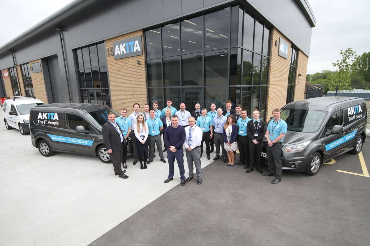 Akita Team at Wrotham