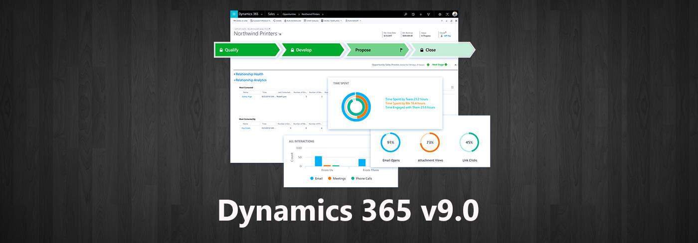 Dynamics 365 version 9.0