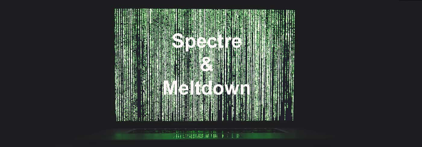 Spectre and meltdown security flaws