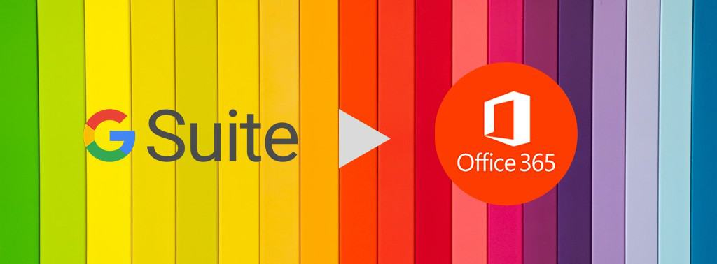 migrating g suite to office 365